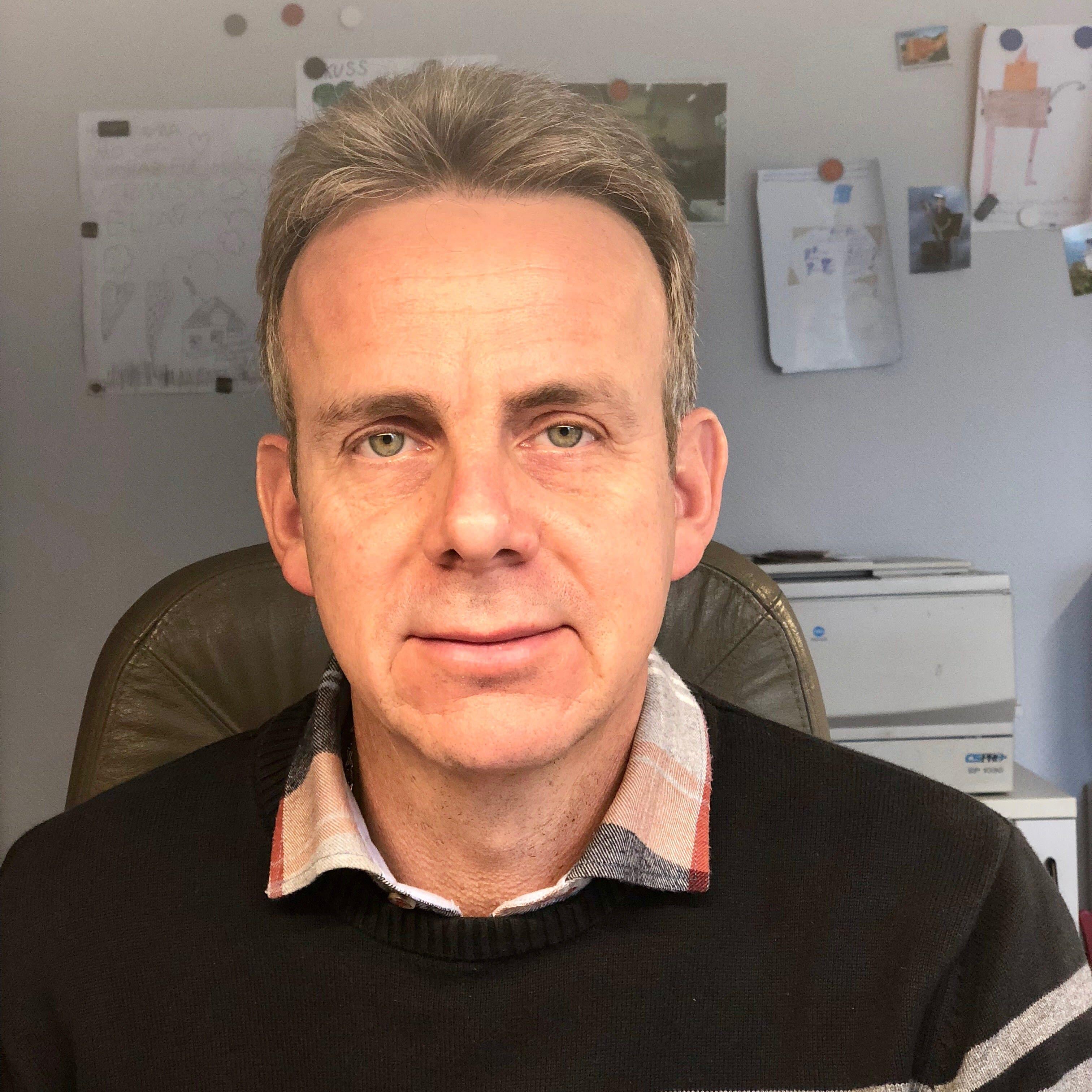 Jürgen Dieter. Geschäftsführer Dieter Spanndecken