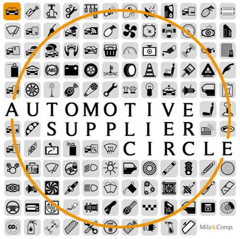 Automotve Supplier Circle Logo