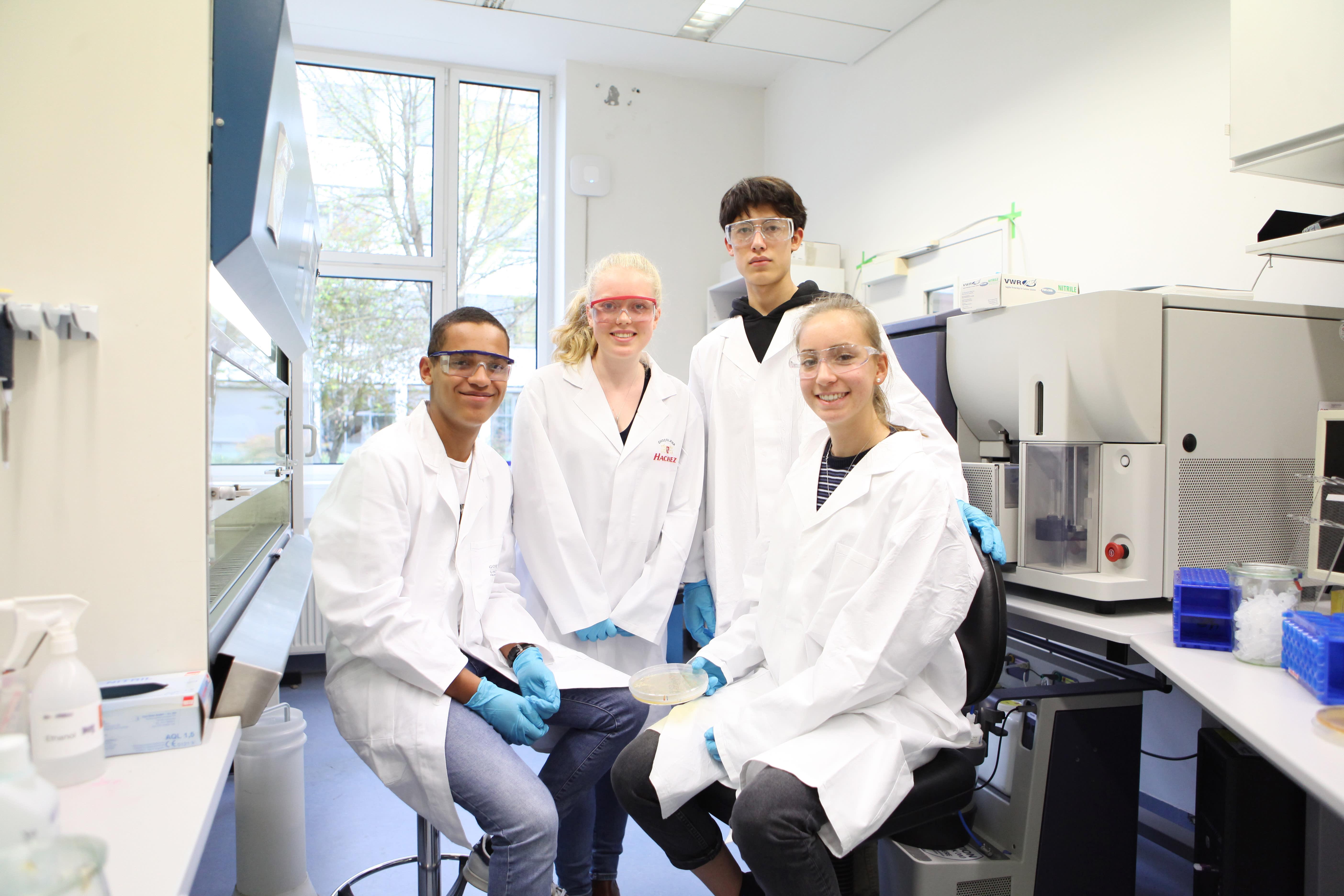 Erbinderlabor Biotechnologie