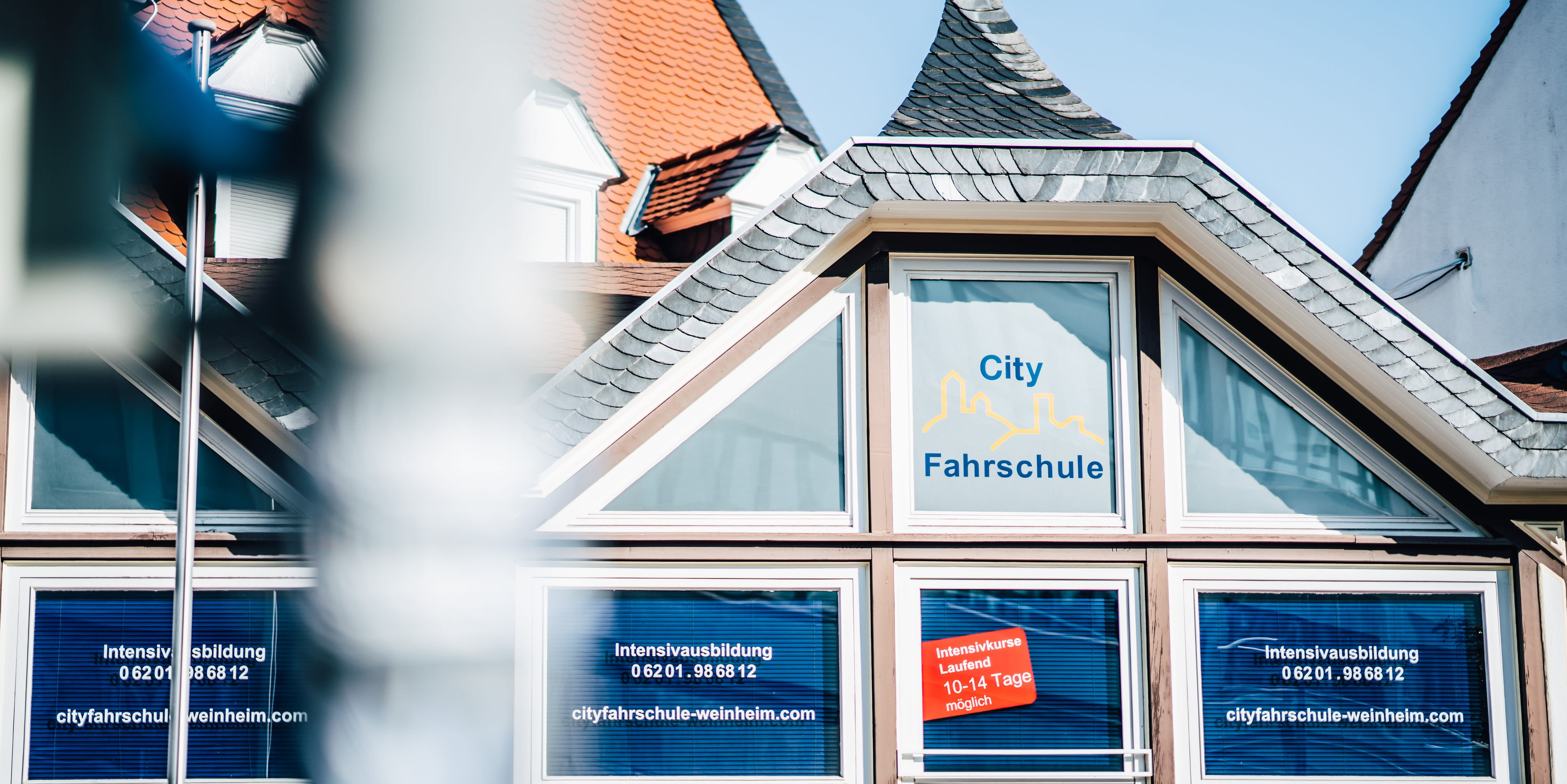 City Fahrschule Weinheim außen