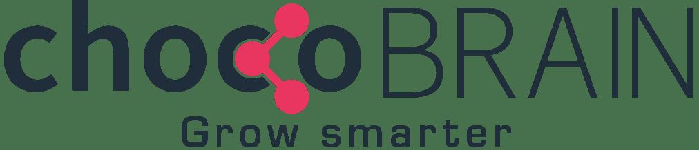 chocoBRAIN Logo mit Claim grow smarter