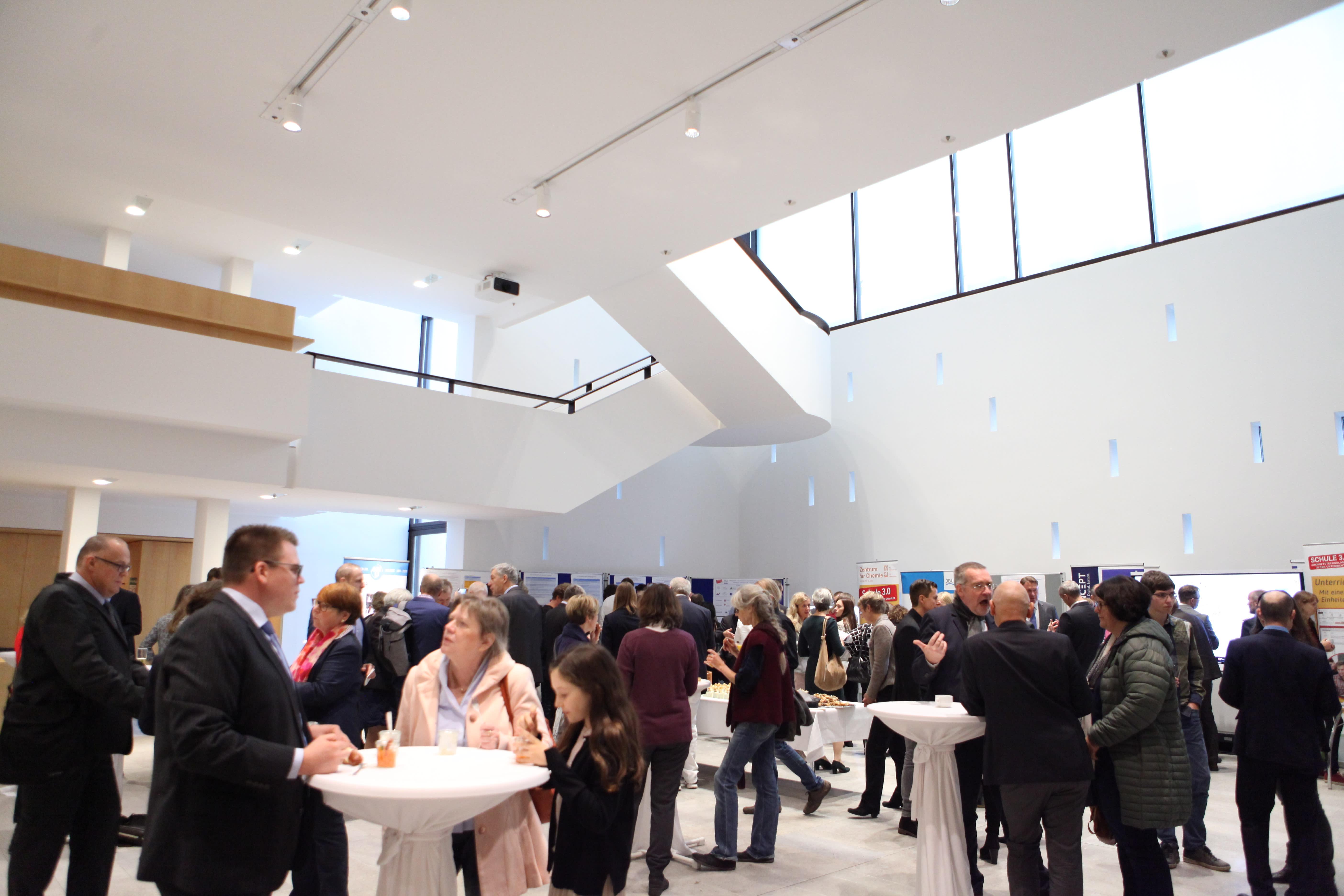 Landtag Publikum Ausstellung