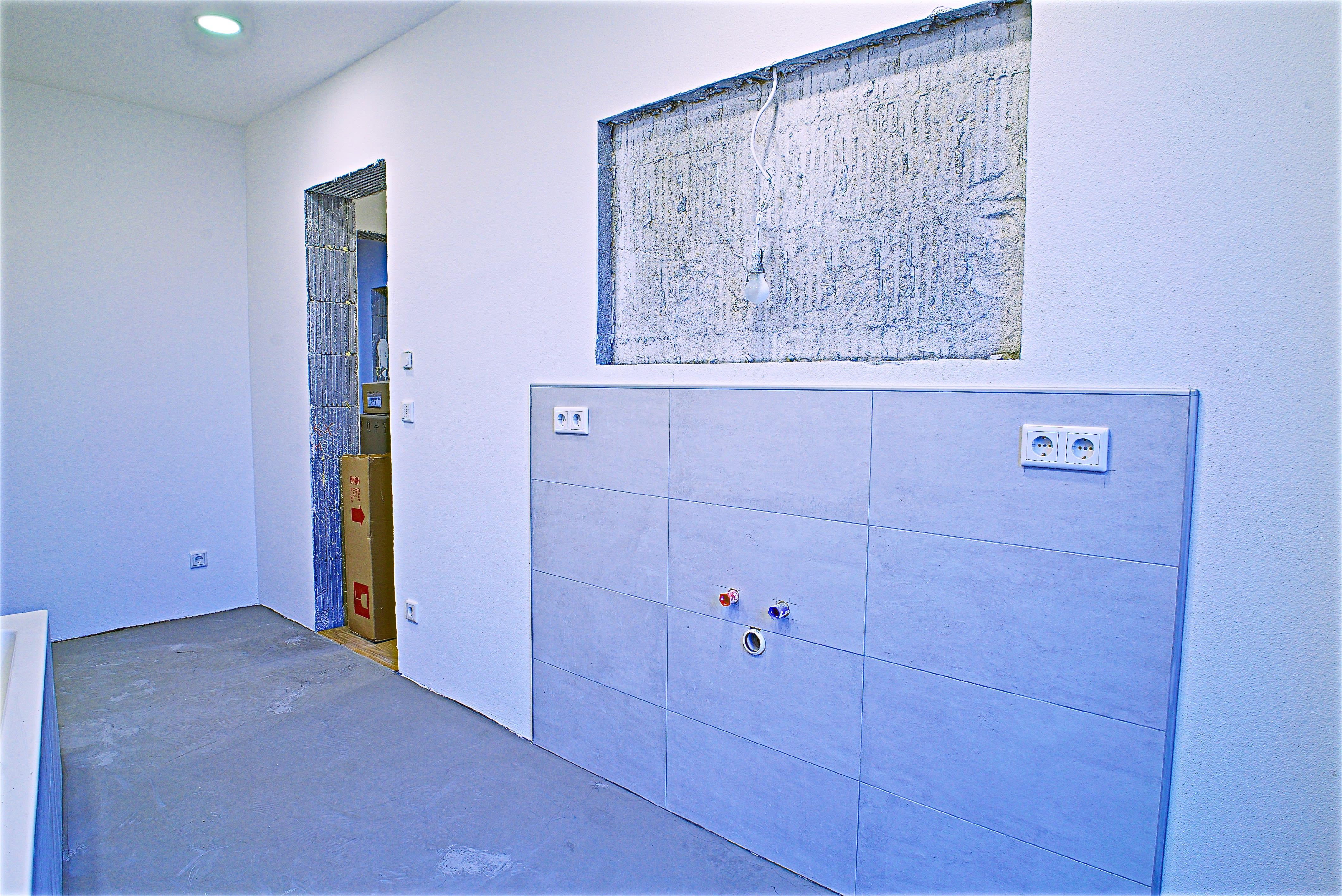 Renovierter Kellerraum