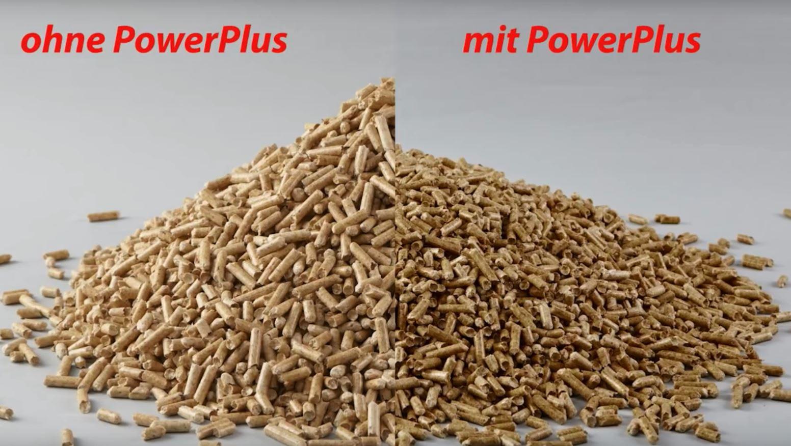Besseres Schüttverhalten mit PowerPlus