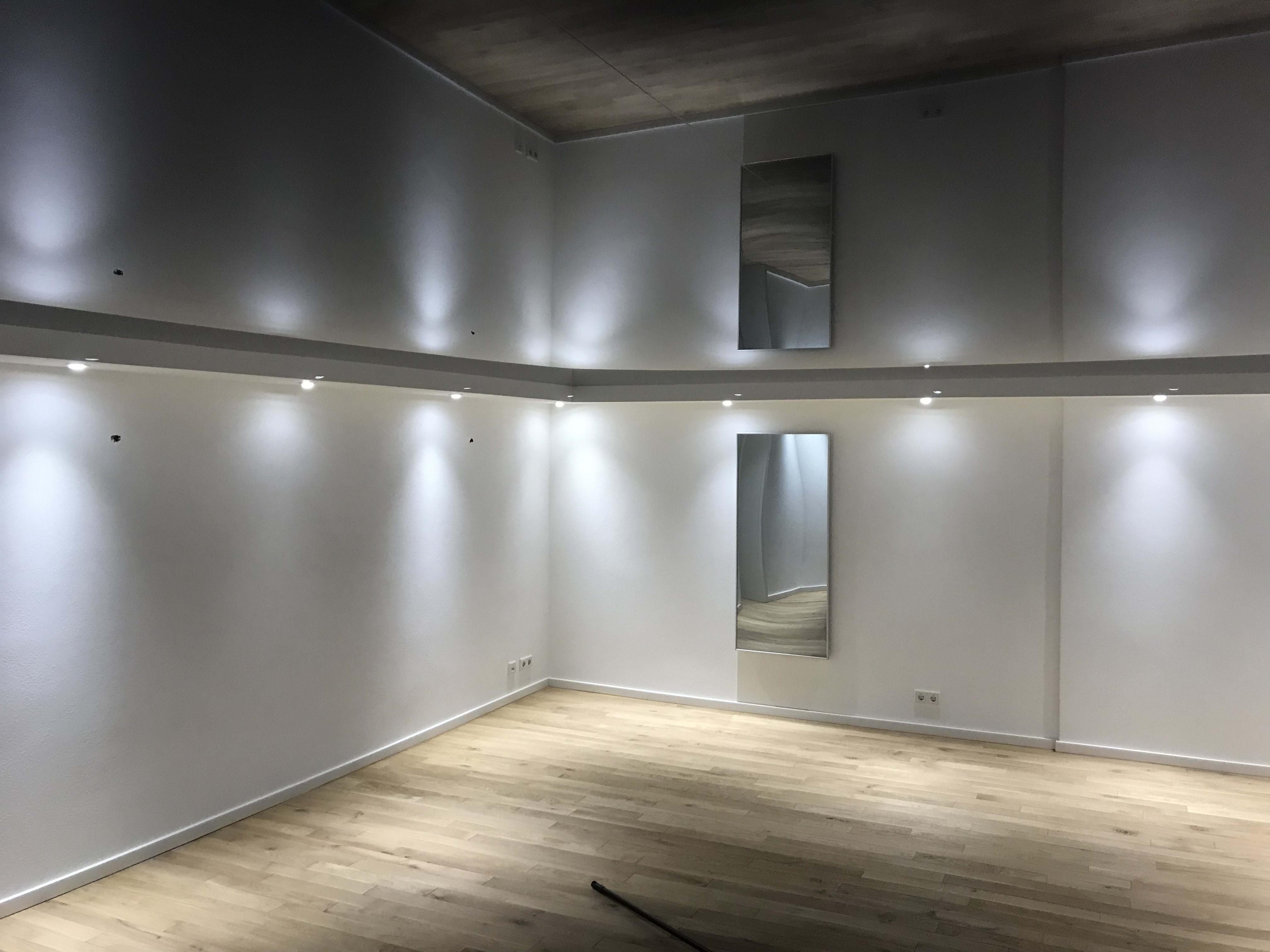 Sanierter Keller Wohnraum. BWA