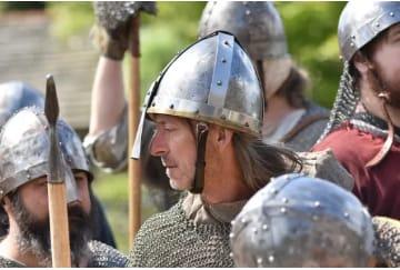 Ritter in der Schlacht