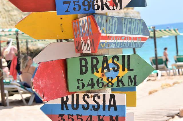 Schilder Brasil Capo Verde