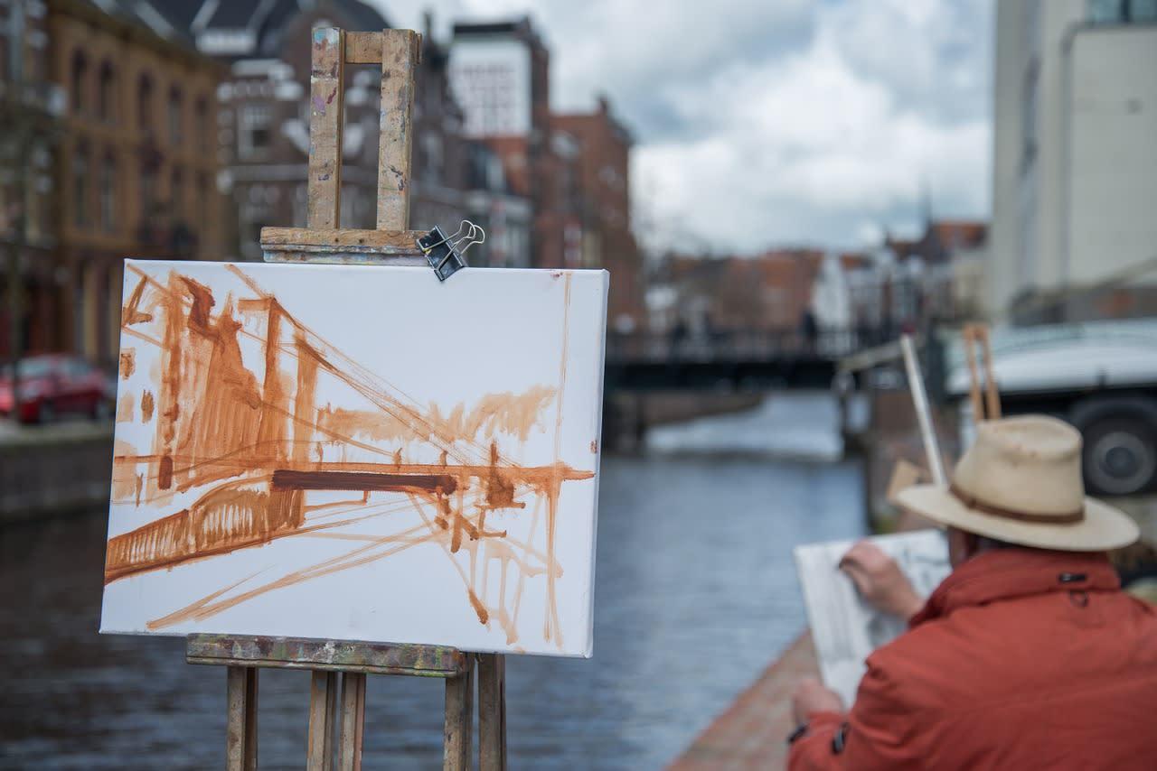 Stadt Maler