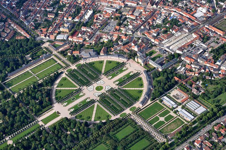 Schweutzingen Luftbild