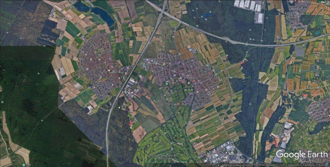 St Leon-Rot Google Maps