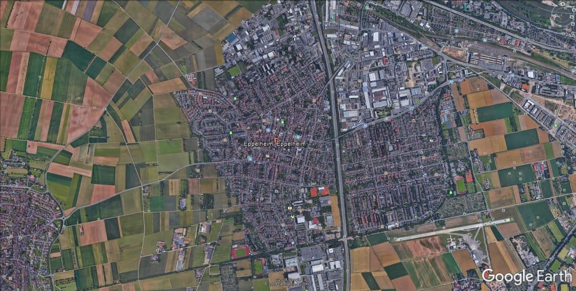 Eppelheim Google Maps