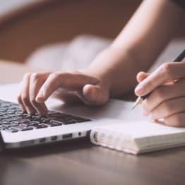 Schreiben und lernen