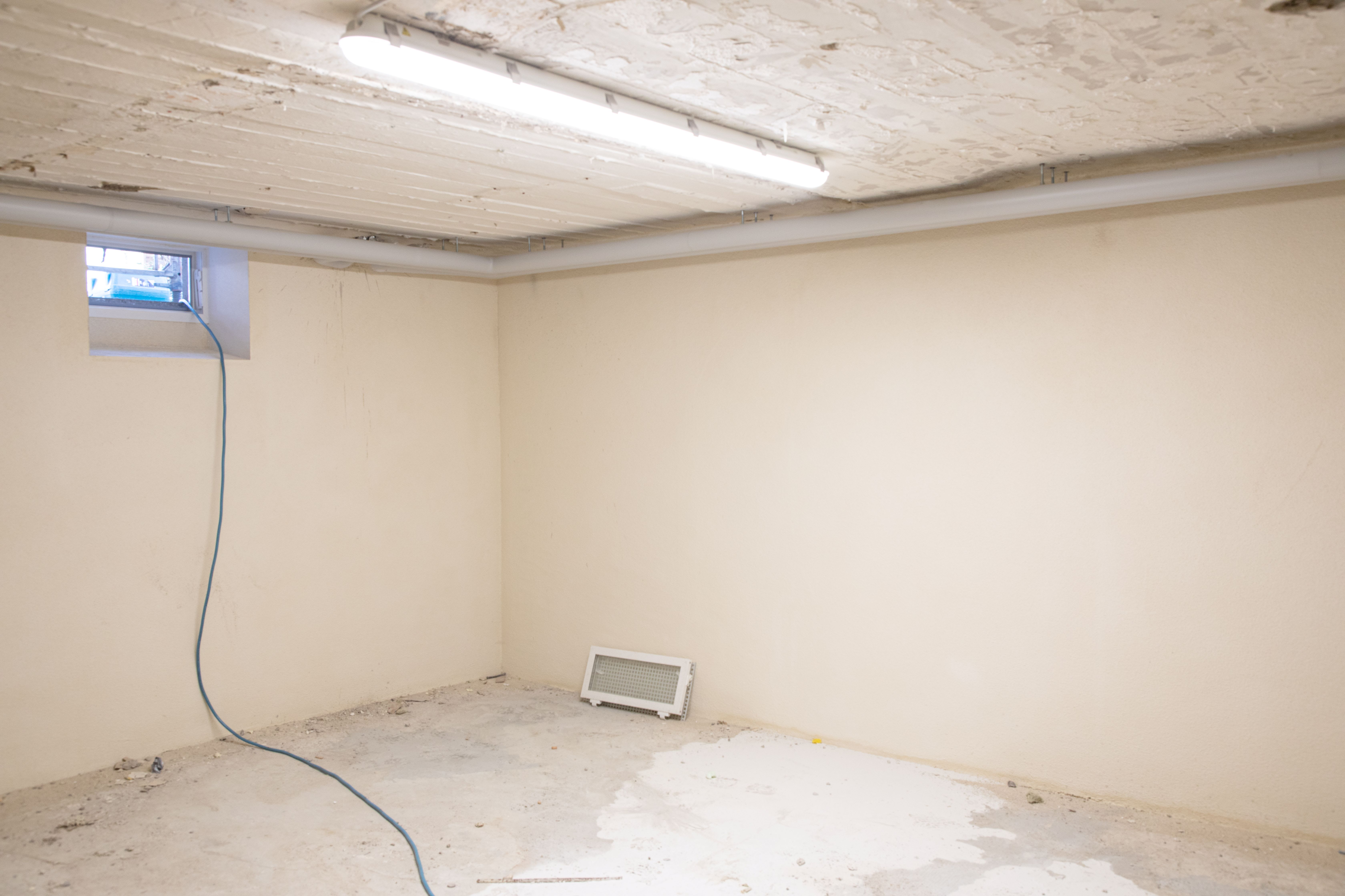 Sanierter Keller