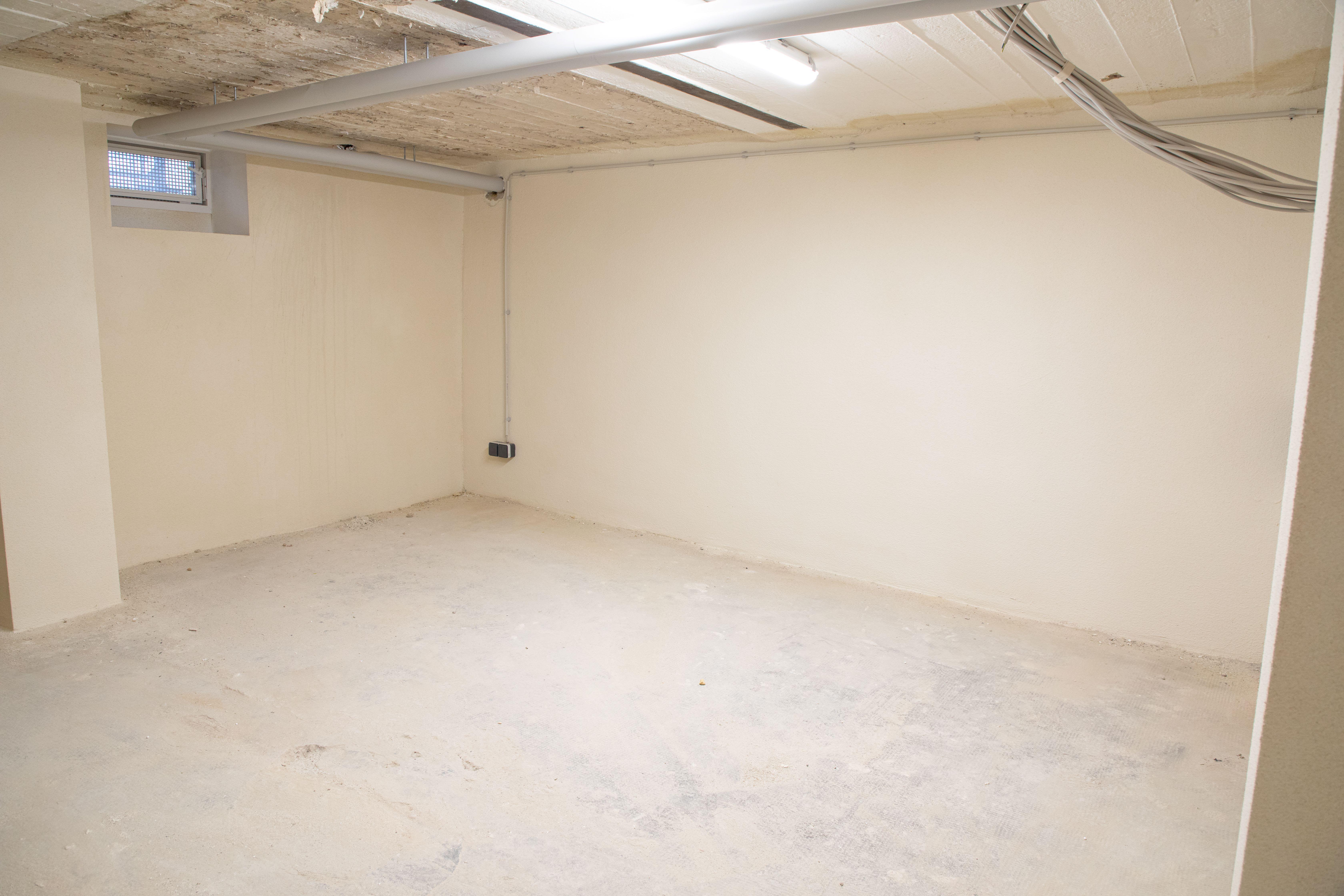 Sanierter Keller durch BWA