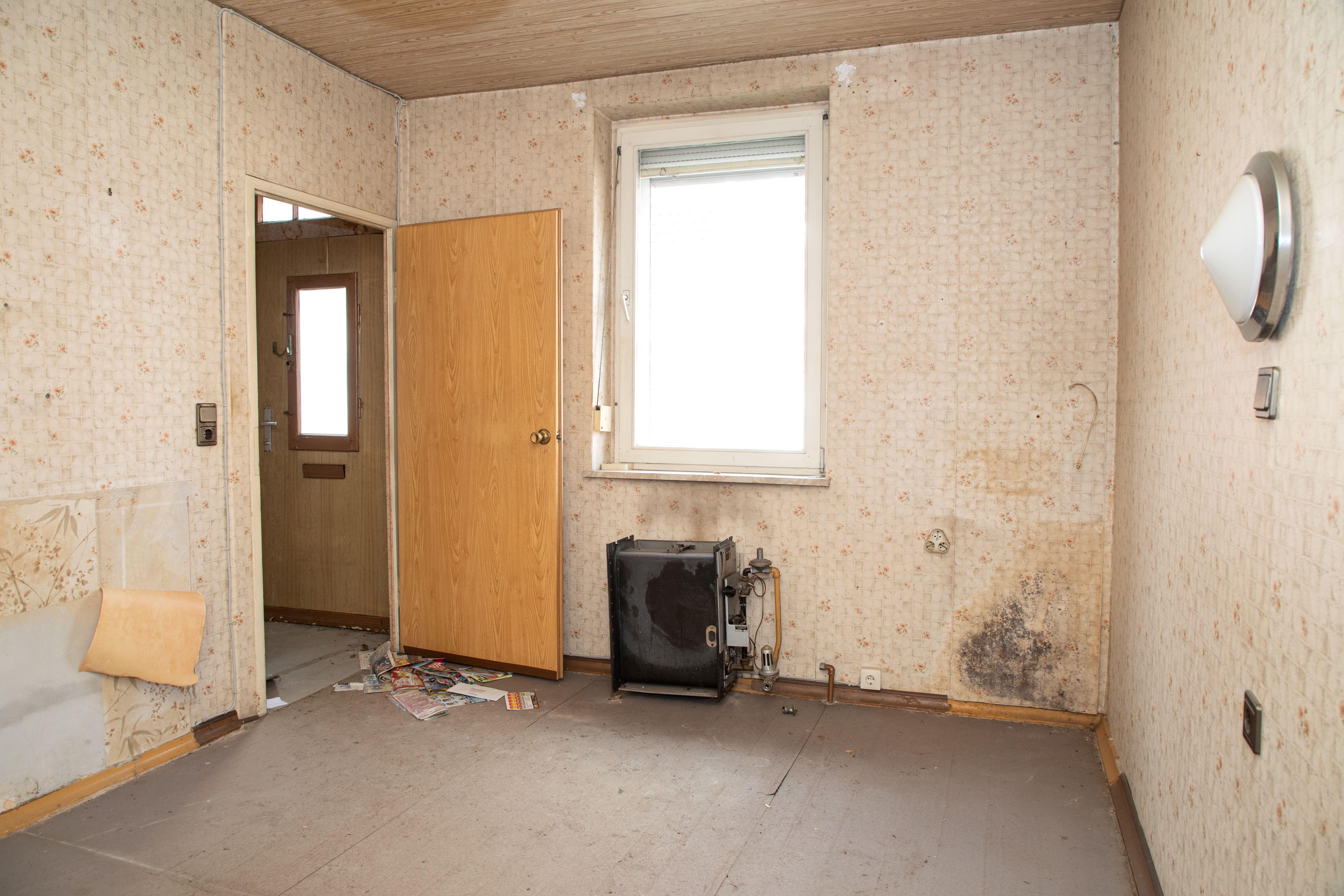 Raum Vor der Sanierung