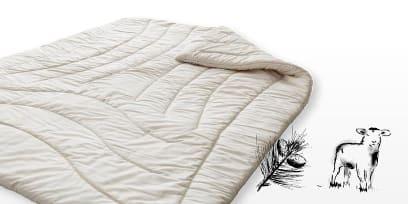 Decke Schafwolle