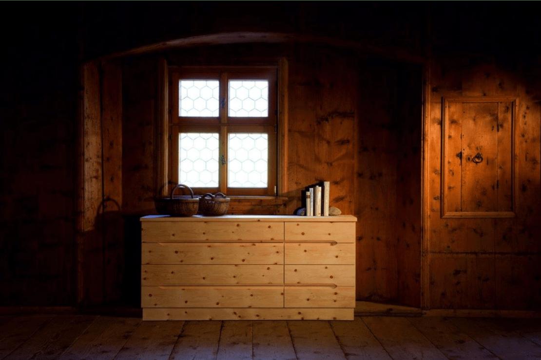 Zirbenholzmöbel Kommode