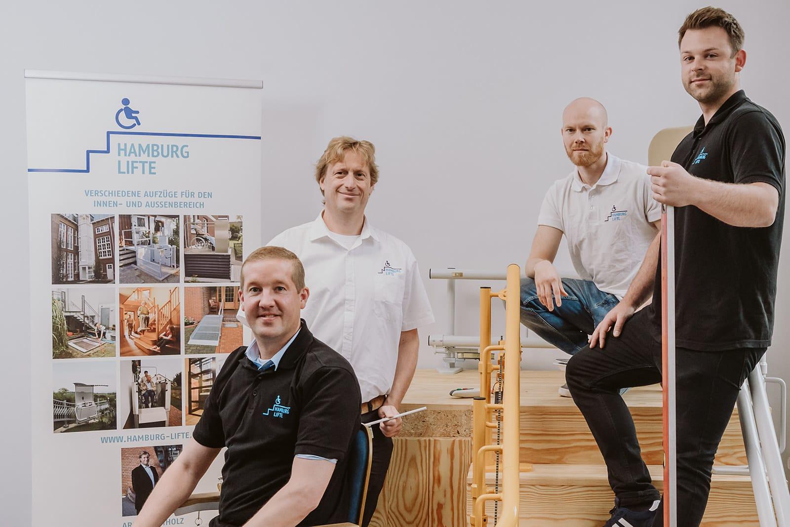 Teammitglieder HamburgLifte