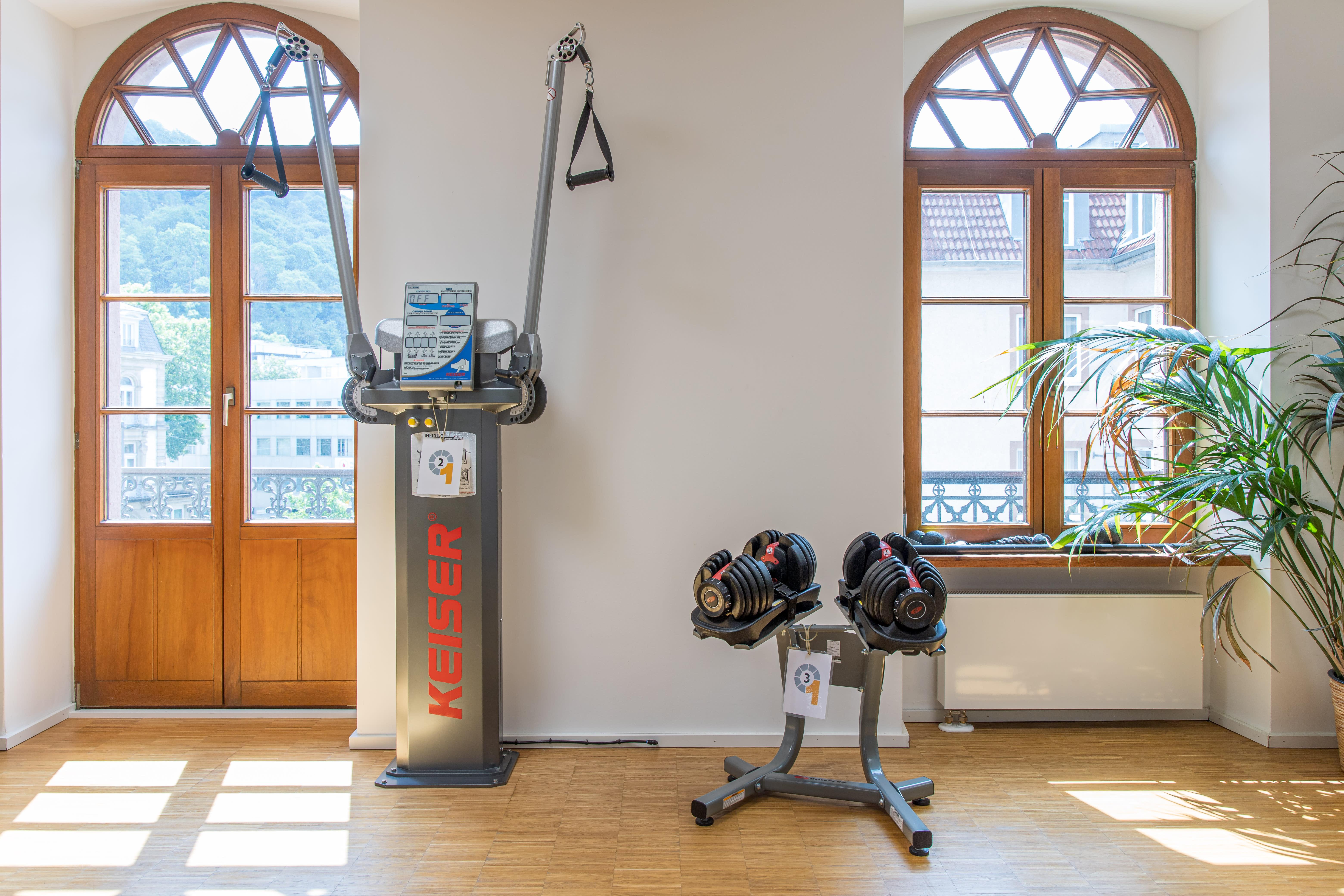 Fitnessgeräte Hanteln