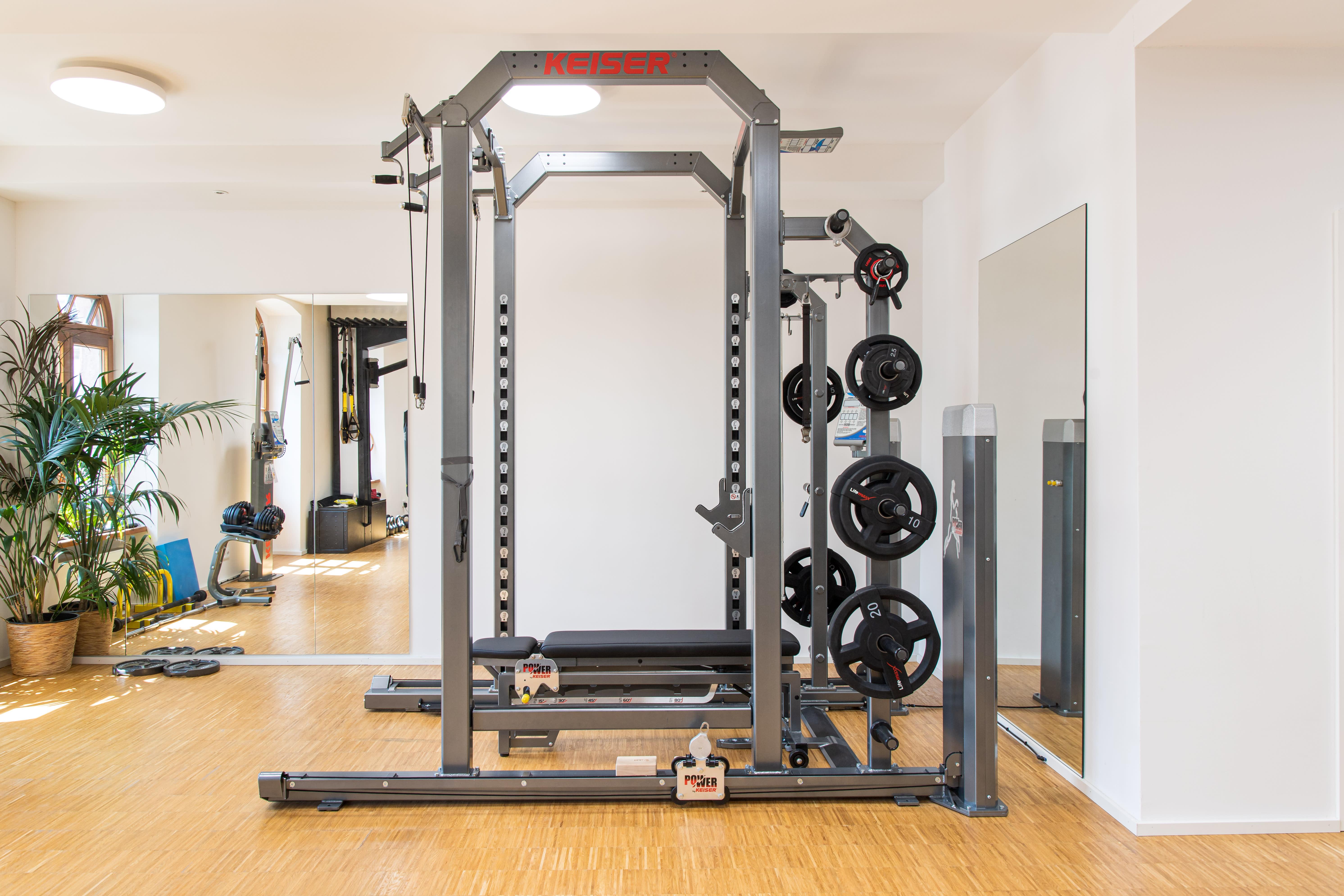 Fitnessgerät Hantelbank