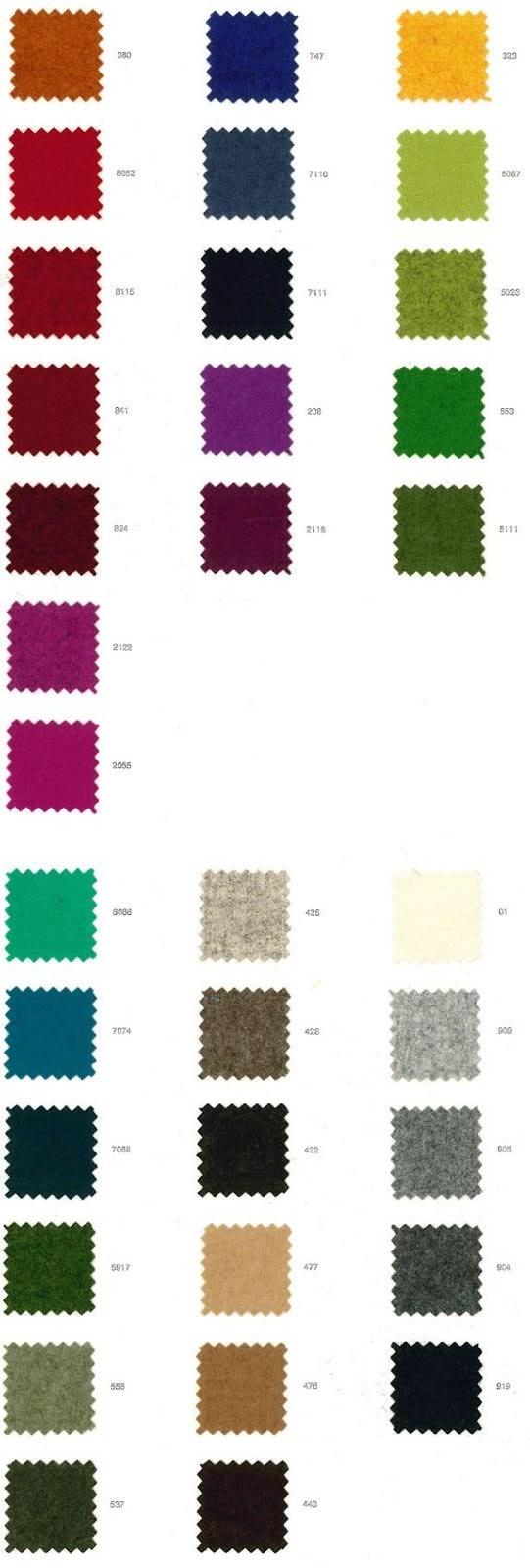 Farben Lodenstoffe