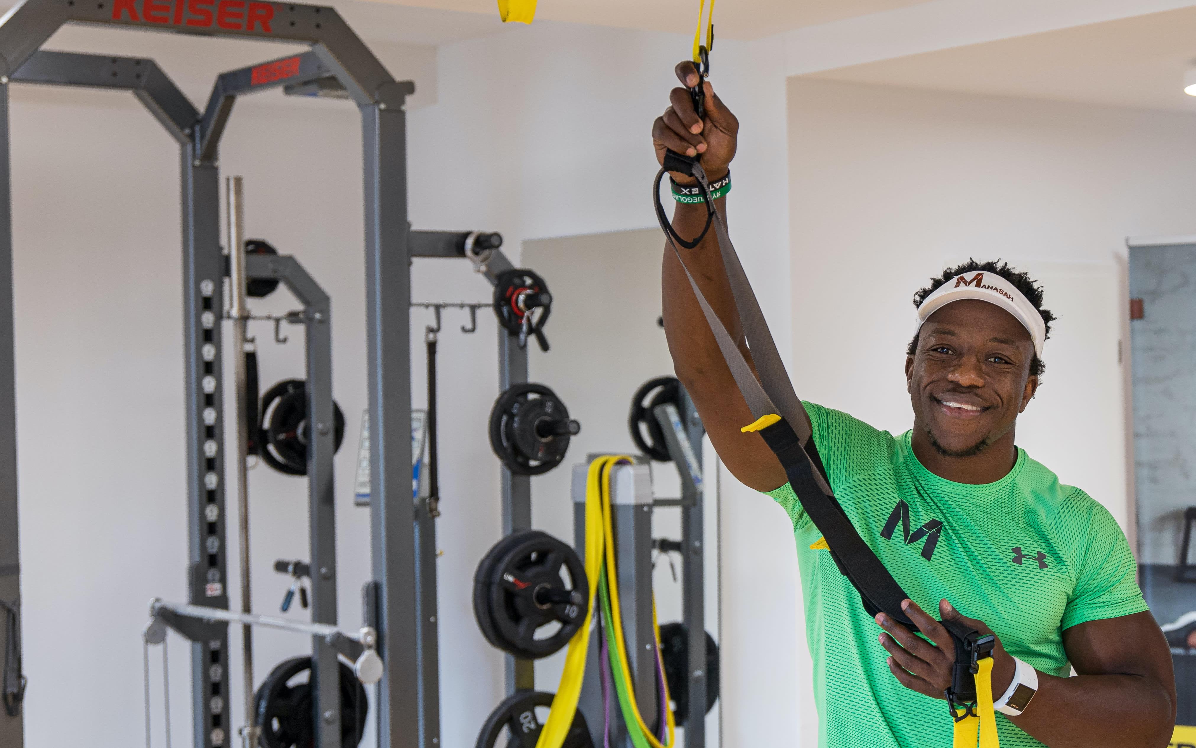Manasah Fitness mit Seilübung 2