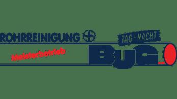 Rohrreinigung BUG Logo