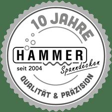 10 Jahre Hammer Spanndecken