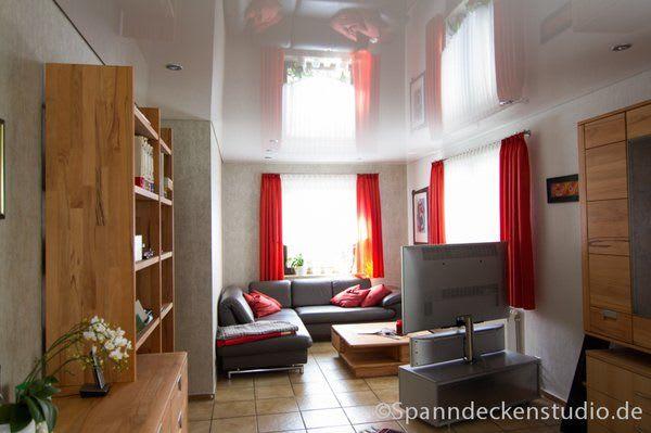 Spanndecke Wohnzimmer Stuttgart