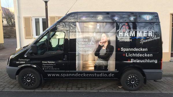 Montagefahrzeug von Spandneckenstudio Hammer Seitenansicht