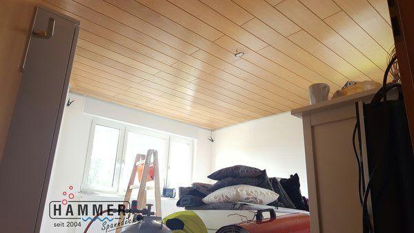 Holzdecke braun Projekt in Kornwestheim