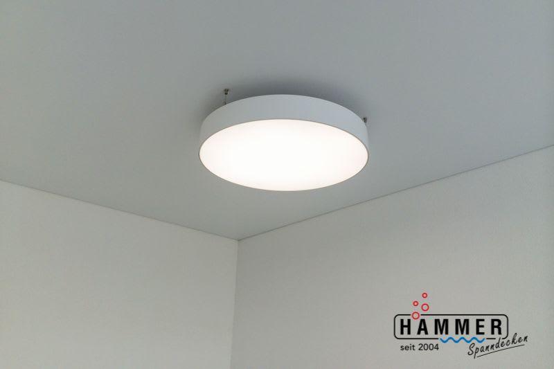 LED Beleuchtung mit Gewebespanndecke Projekt Grossbottwar
