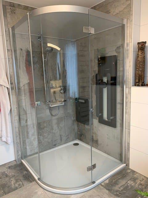 Duschkabine von badstudiohammer