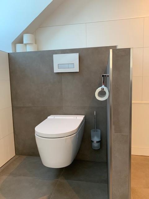 Weiße Toilette