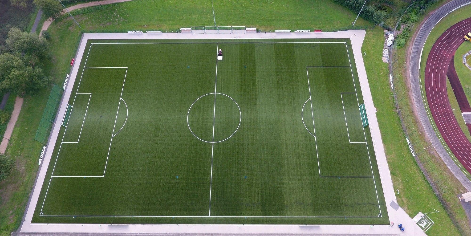Kunstrasen von P&T Sportplatzsysteme