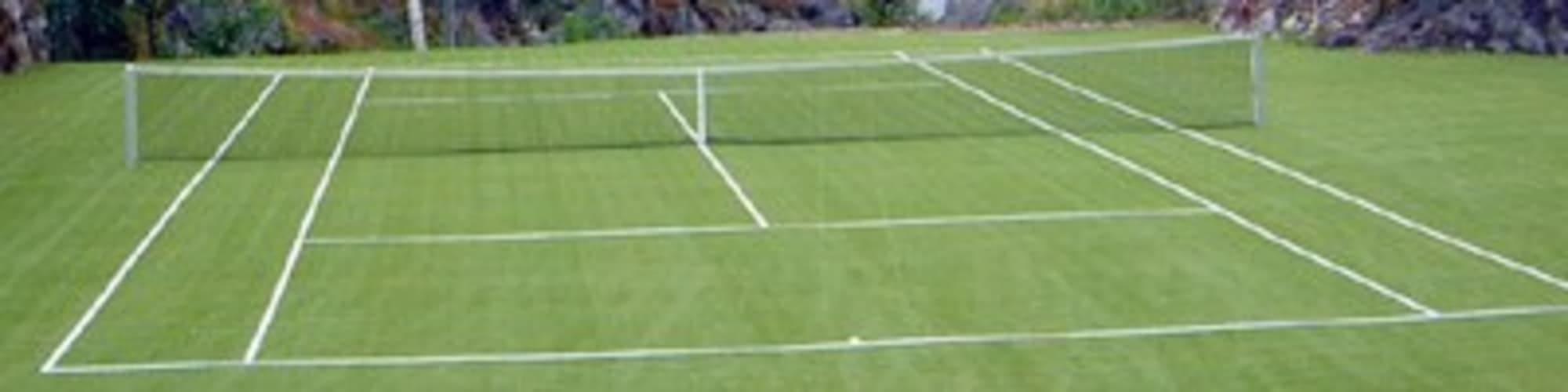 Tennisplatz von P&T Sportplatzsysteme