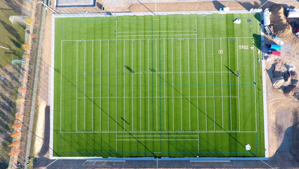 Neues Football-Feld in Weinheim
