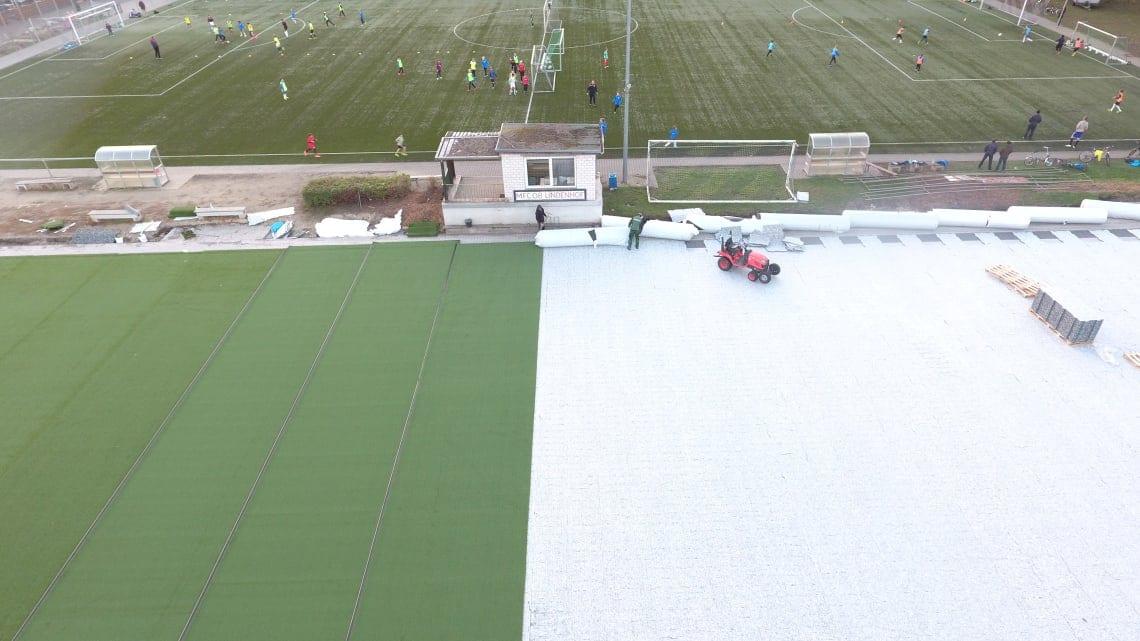 NeuerFußballplatz in Lindenhof 1
