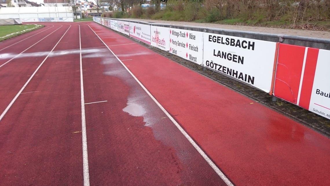 Laufbahn inEgelsbach 2