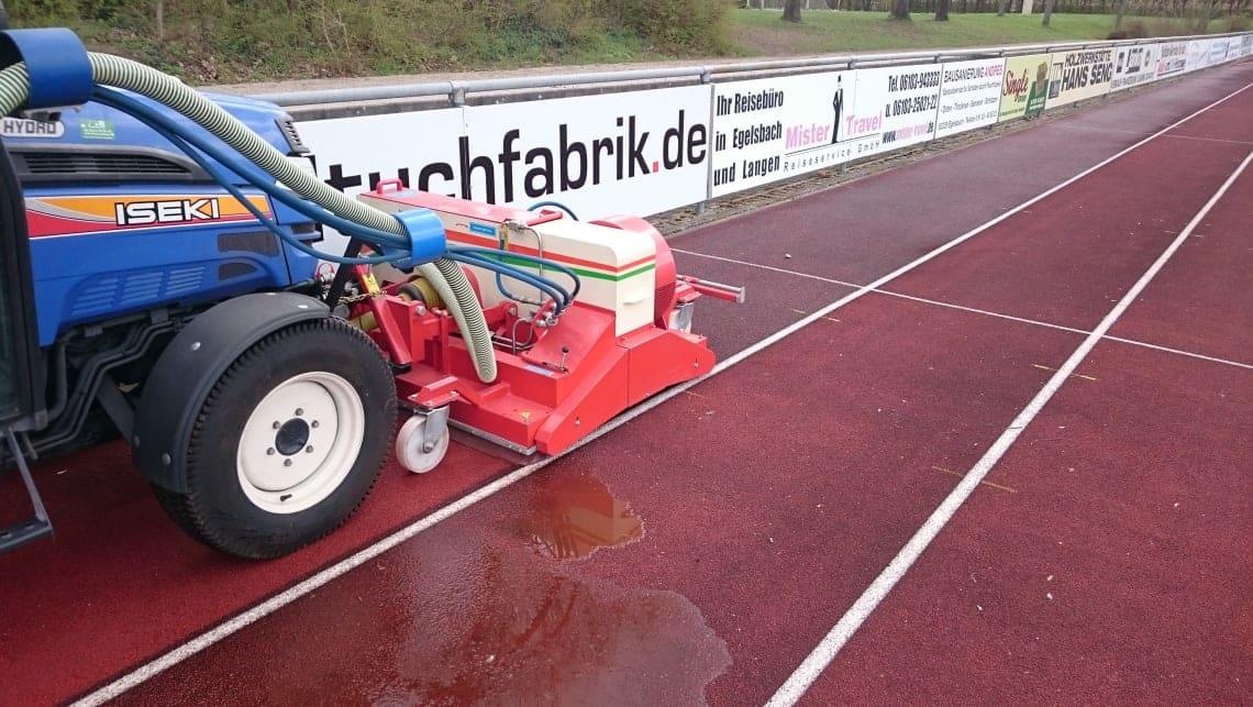 Laufbahn in Egelsbach 3