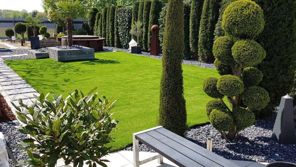 Kunstrasen Gärten