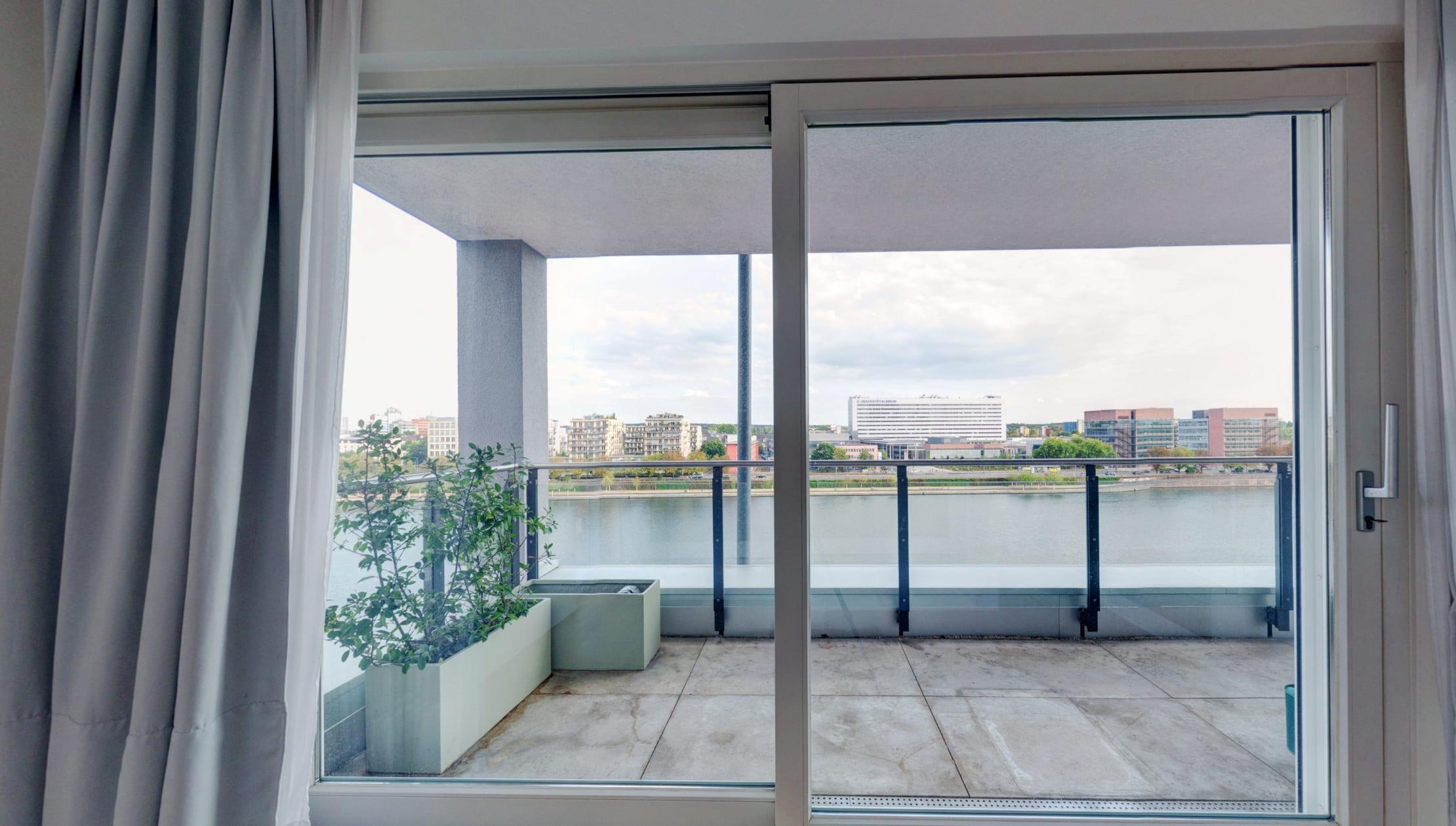 Immobilie Frankfurt Mainwesthafen 360 Grad Rundgang