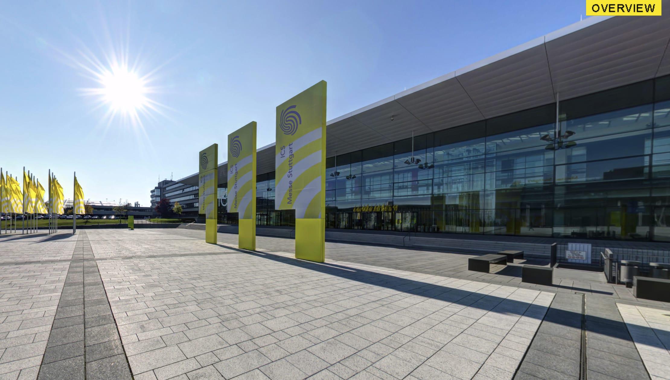 Messe Stuttgart 360 Grad Rundgang