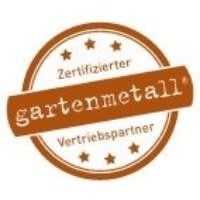 Zertifizierte Gartenmetall Vertriebspartner Logo