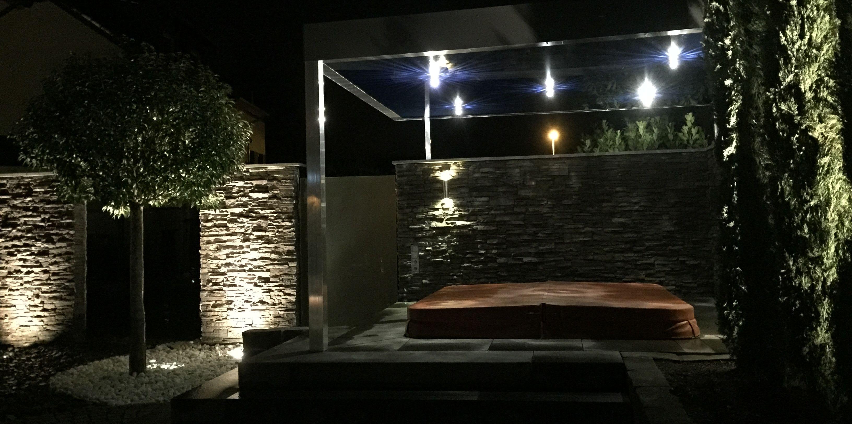 Florian Feth installiert Gartenbeleuchtung für Sie