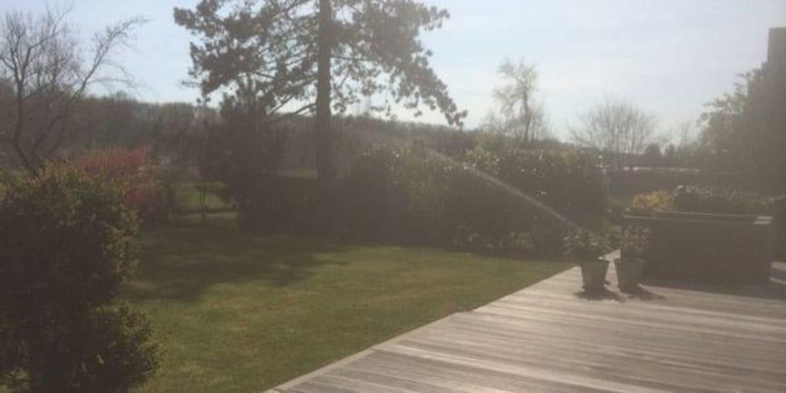 Mit Florian Feth Rasensprenger installieren, die ihren Garten verschönern