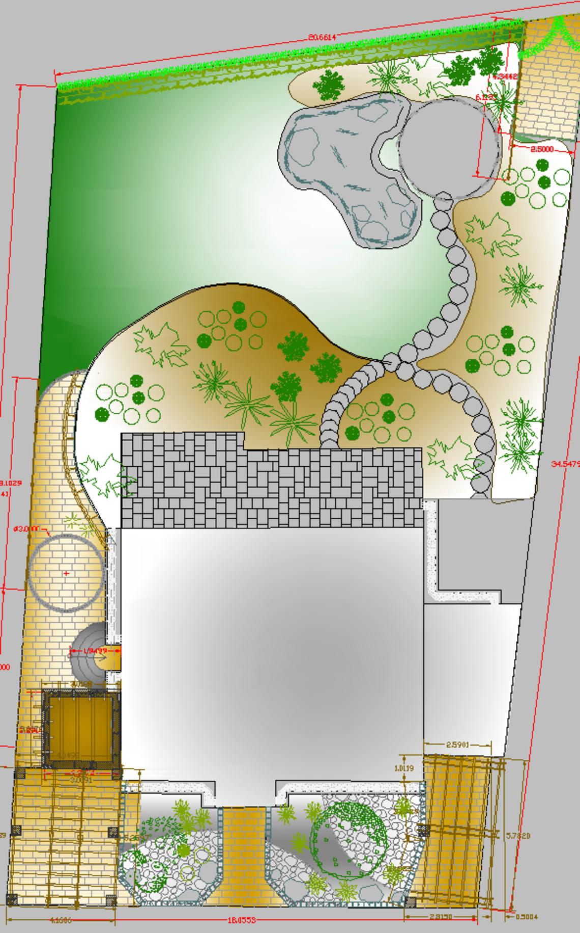 Digitaler Gartengrundriss Florian Feth