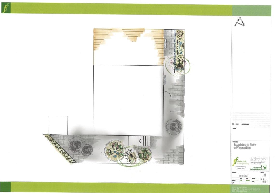 Gartenplanung mit digitalem Grundriss Florian Feth
