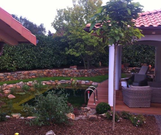 Florian Feth baut Pool und Terasse in Ihrem Garten