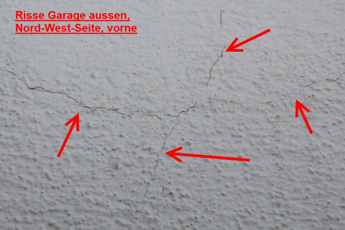 Beweissicherung Garage